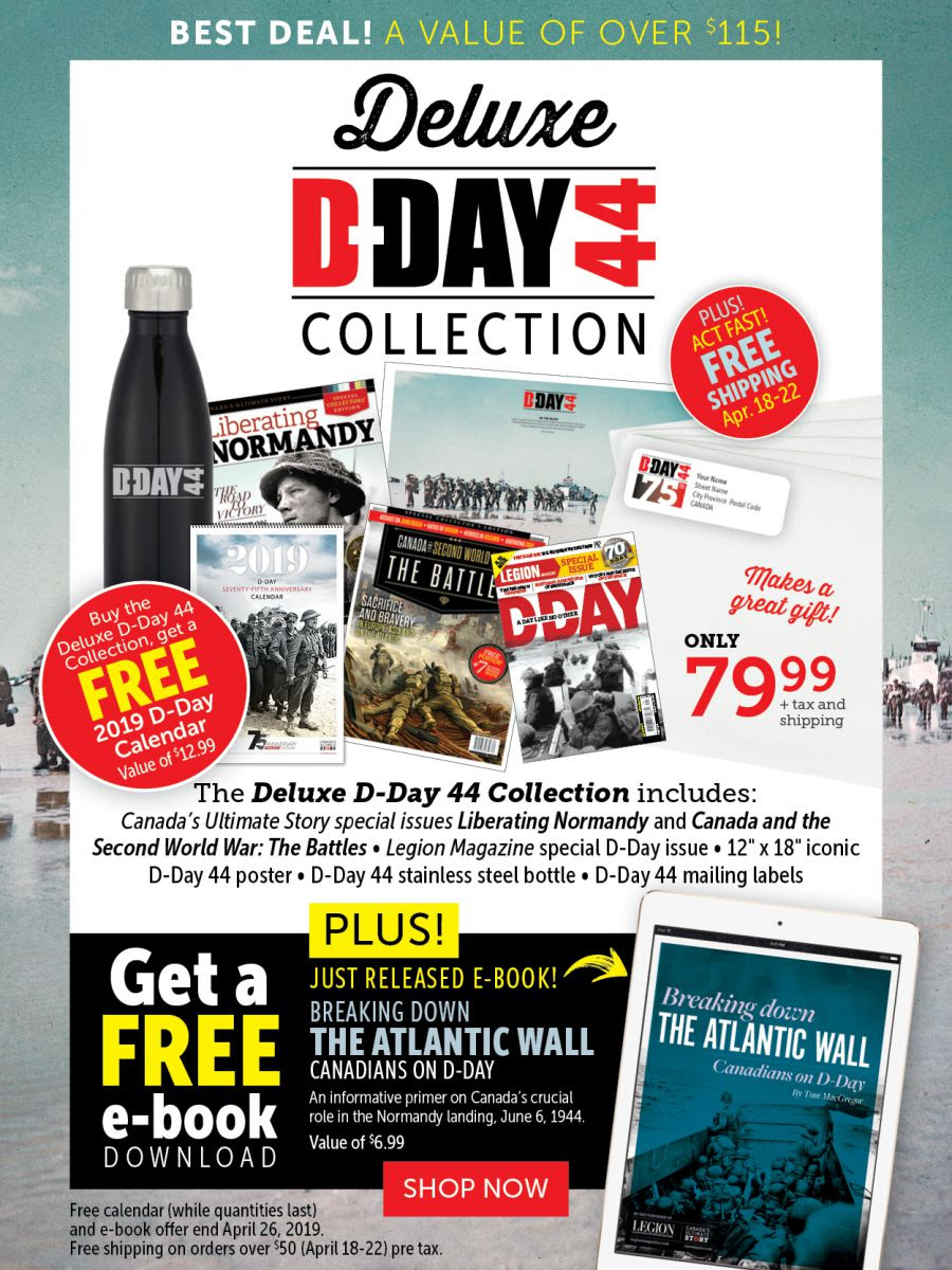 Deluxe D-Day 44 Collection - Includes free e-book!