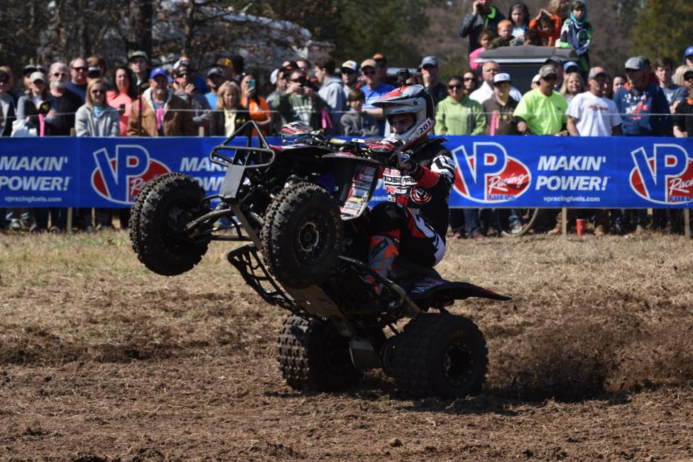 XC1 Pro rookie, Cody Collier, is showing great promise to be a podium contender in the near future.