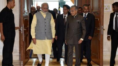 Modi and Mahatir Mohammad