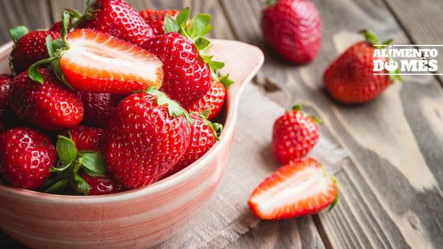 """Morangos: """"Baixos em calorias, ricos em vitamina C e compostos bioativos"""""""