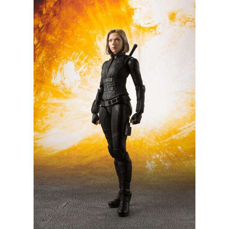 Image of Avengers: Infinity War S.H.Figuarts Black Widow & Tamashii Effect