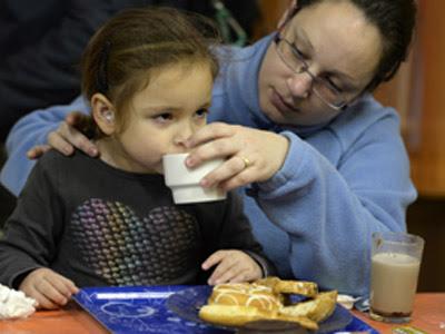 Uno de cada tres niños españoles vive en riesgo de pobreza o exclusión social