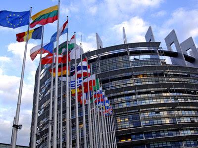 La sede del Parlamento Europeo en Estrasburgo. BLN.