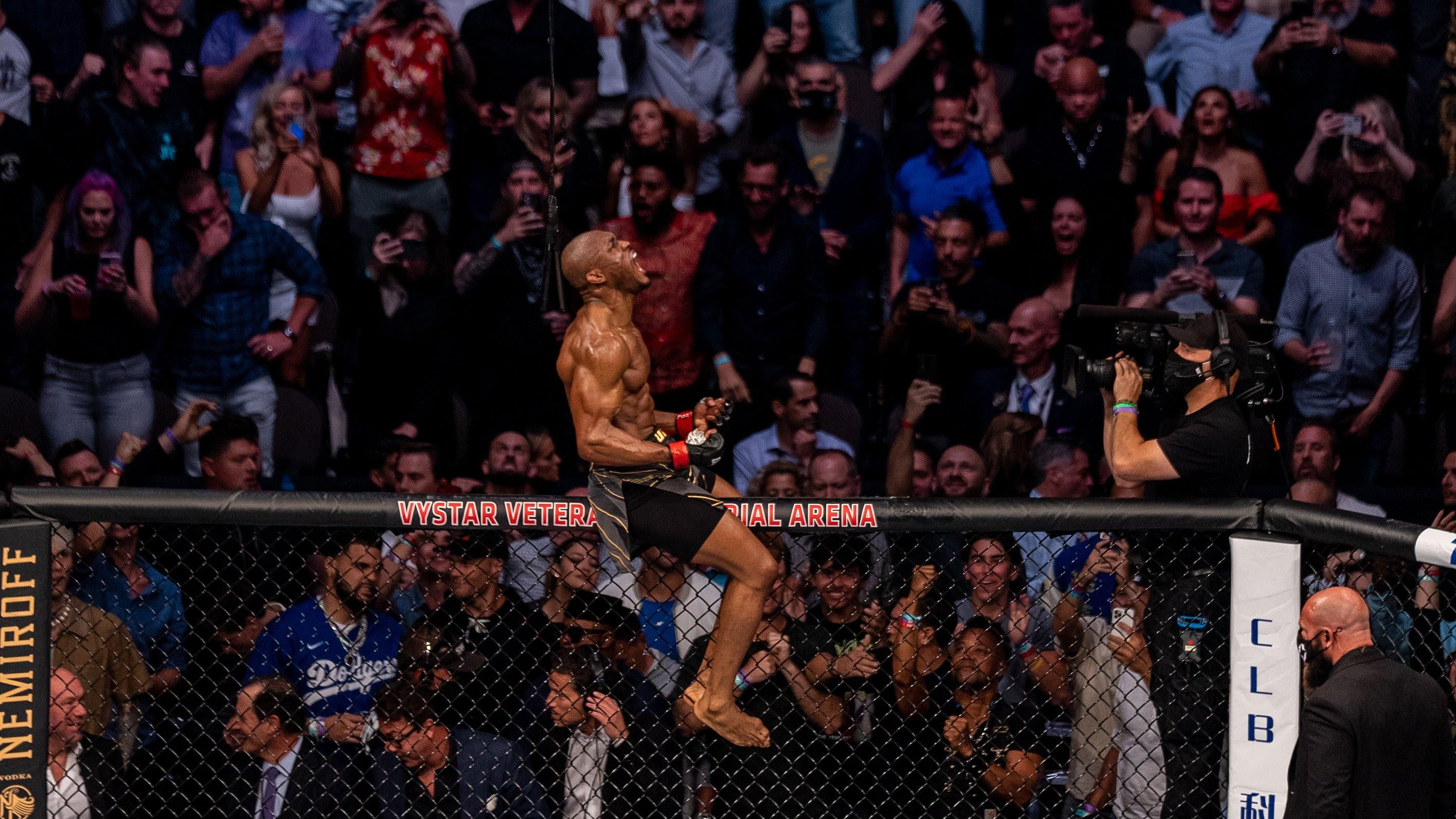 Kamaru Usman. Photo: Twitter UFC