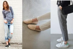 flats revealed ankles