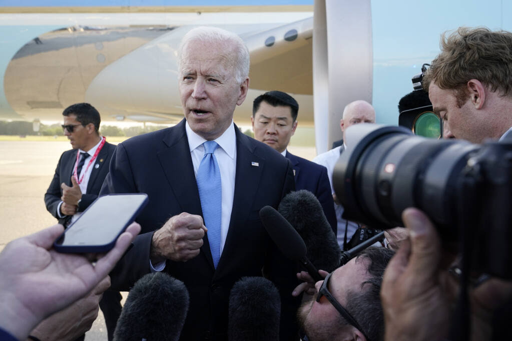 President Biden's unscripted remarks are starting to haunt him and the White House