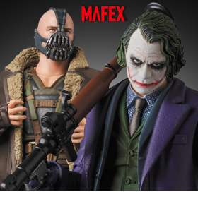 MAFEX JOKER 2.0 & BANE