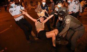 Protestas en Israel. EFE/EPA/ABIR SULTAN