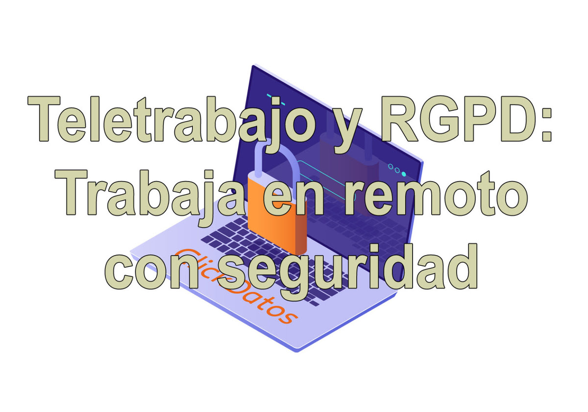 Teletrabajo y RGPD