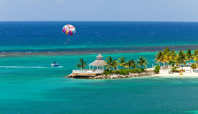 There's lots of fun to be had on Jamaica's beaches.