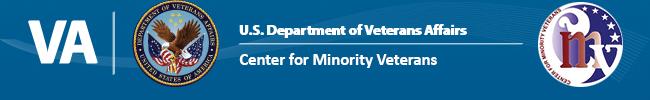 enter for Minority Veterans Banner