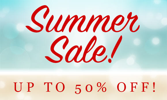 Summer sale up to 50% off on beauty essentials at Gorgeous Shop.