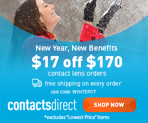 $17 Off $170 on contact lenses...