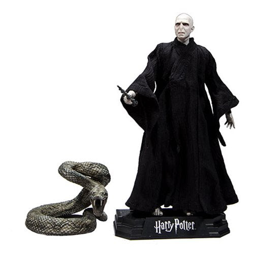 """Image of Harry Potter 7"""" Action Figure Series 1 (Deathly Hallows) - Lord Voldemort"""