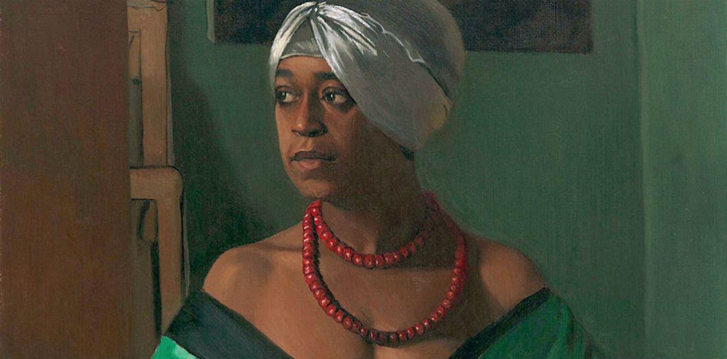 Aïcha,de Félix Valotton,1922, avait été exposé dans l'exposition «Le Modèle noir» au musée Musée d'Orsay en 2019. |Hamburger Kunstsammlungen via Wikimedia