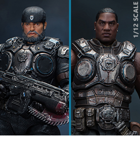 Gears of War 1/12 Scale Figures