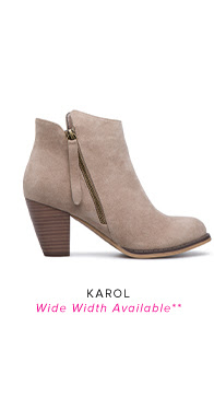 KAROL WIDE WIDTH AVAILABLE