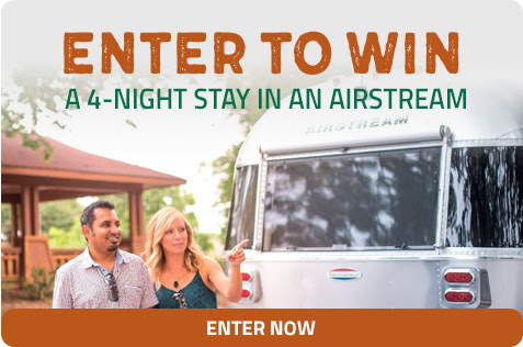 ENTER NOW TO WIN A 4-NIGHT STAY IN AN AIRSTREAM