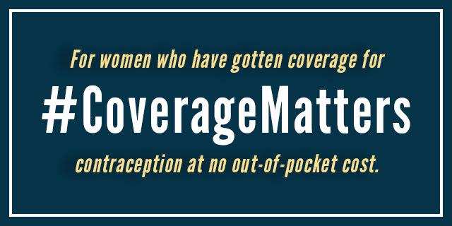 #CoverageMatters for Women's Health