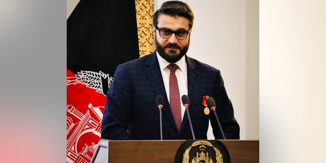Hamdullah Mohib, the National Security Adviser of Afghanistan (NSA) who previously served as the Ambassador to the United States.