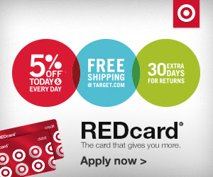 Sign up for Target REDcard debit and credit cards!