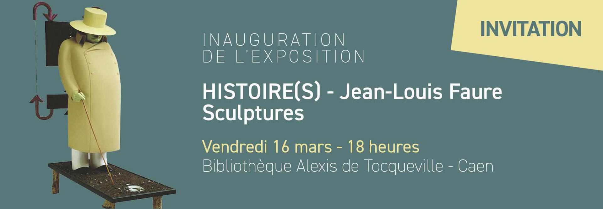 Invitation - Jean-Louis Faure