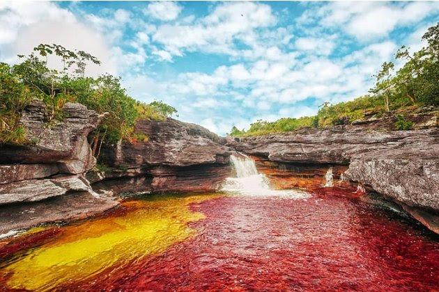 Vẻ đẹp không tin nổi của một dòng sông