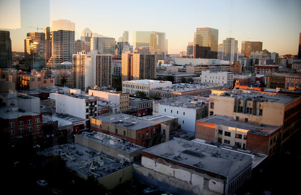 A view of downtown San Diego.