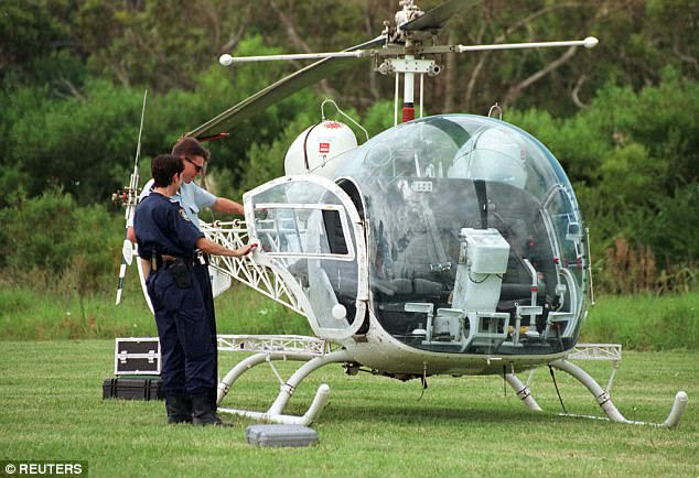 This is the helicopter used in John Killick's brazen escape from Silverwater max security jail