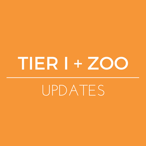 Tier I + Zoo Updates