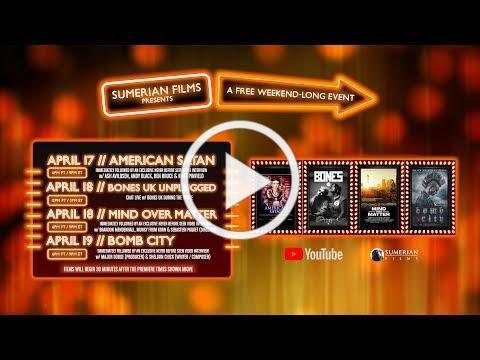 YOUTUBE PREMIERE EVENT - Sumerian Films 4/17 - 4/19 (TRAILER)