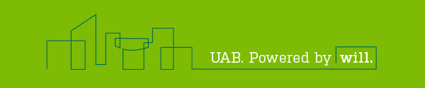 UAB. Powered by Will.
