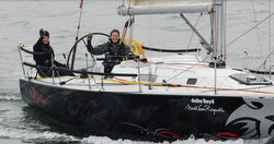 J/105 women's double-handed sailing team- Panther in the Netherlands