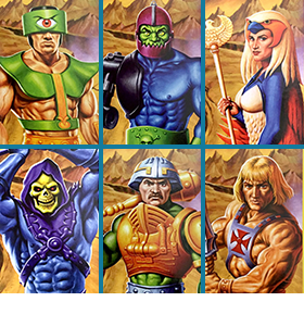 MASTERS OF THE UNIVERSE FIGURES