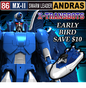 MX-II SWARM LEADER ANDRAS – EARLY BIRD PREORDER