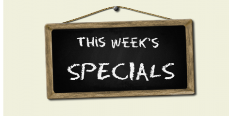 Image result for specials of the week