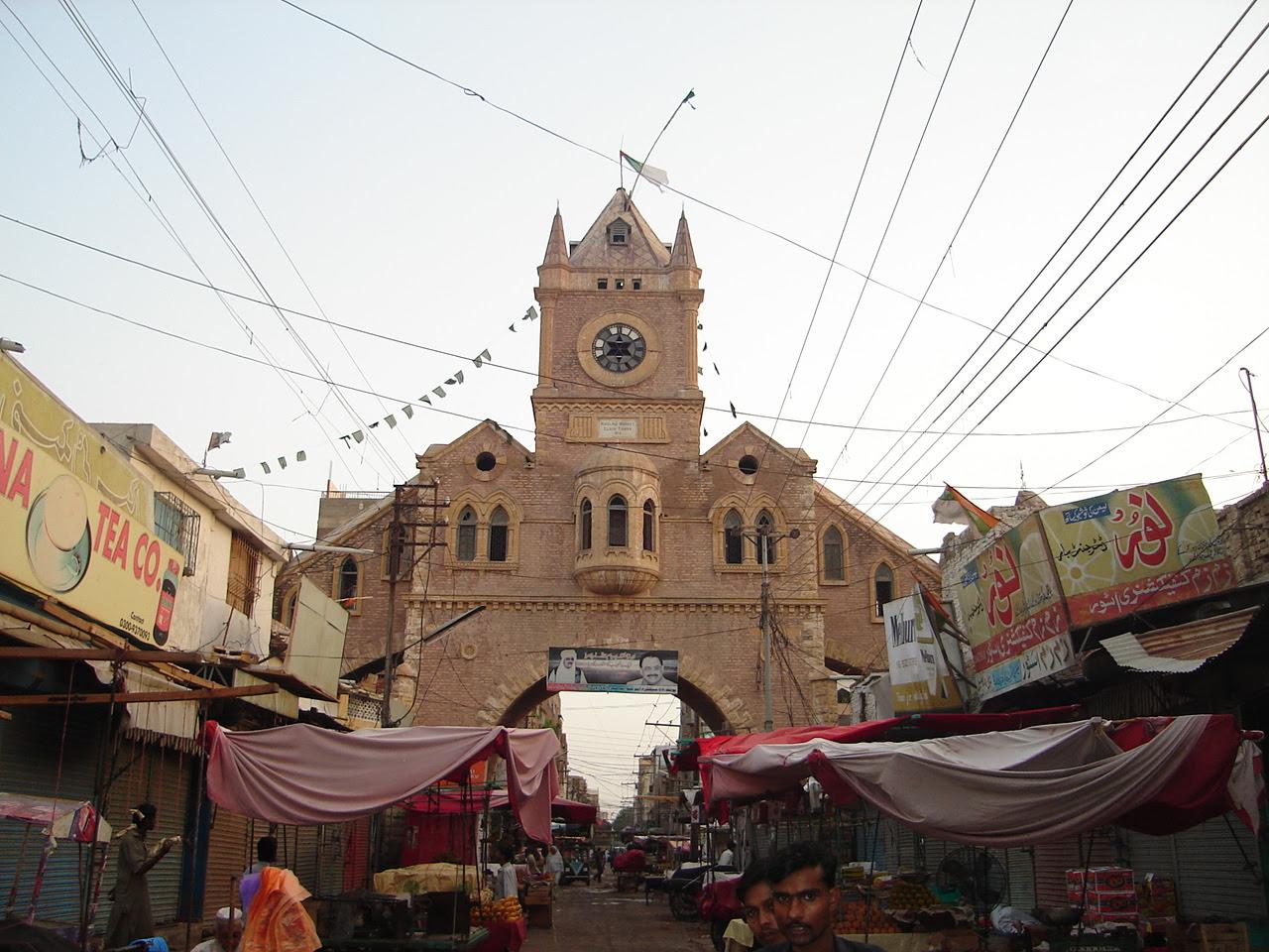 MARKET CLOCK TOWER Hyderabad