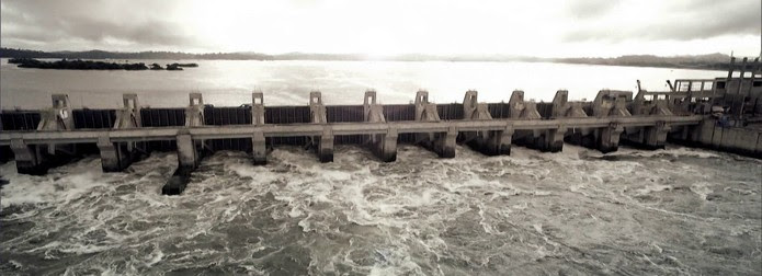 Trecho da usina hidrelétrica de Belo Monte/GNews (Foto: Reprodução GloboNews)