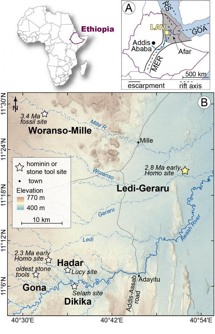 Image: Ethiopia sites
