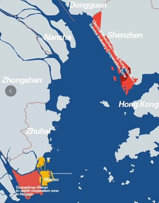 The Guangdong-Macao In-depth Cooperation Zone in Hengqin and the Qianhai Shenzhen-Hong Kong Modern Service Industry Cooperation Zone