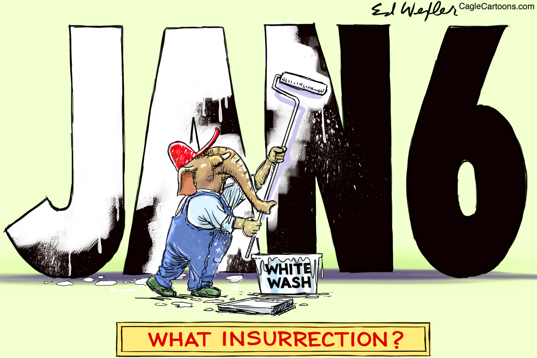 Republicans whitewash insurrection