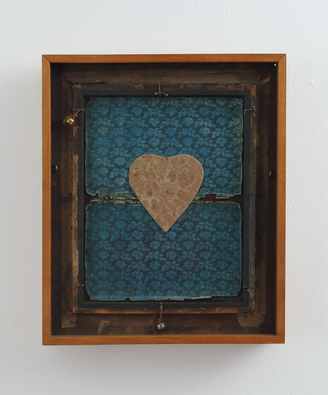 Valentine, 1986, mixed media construction, 15 3/8 x 12 7/8 x 2 5/8 inches