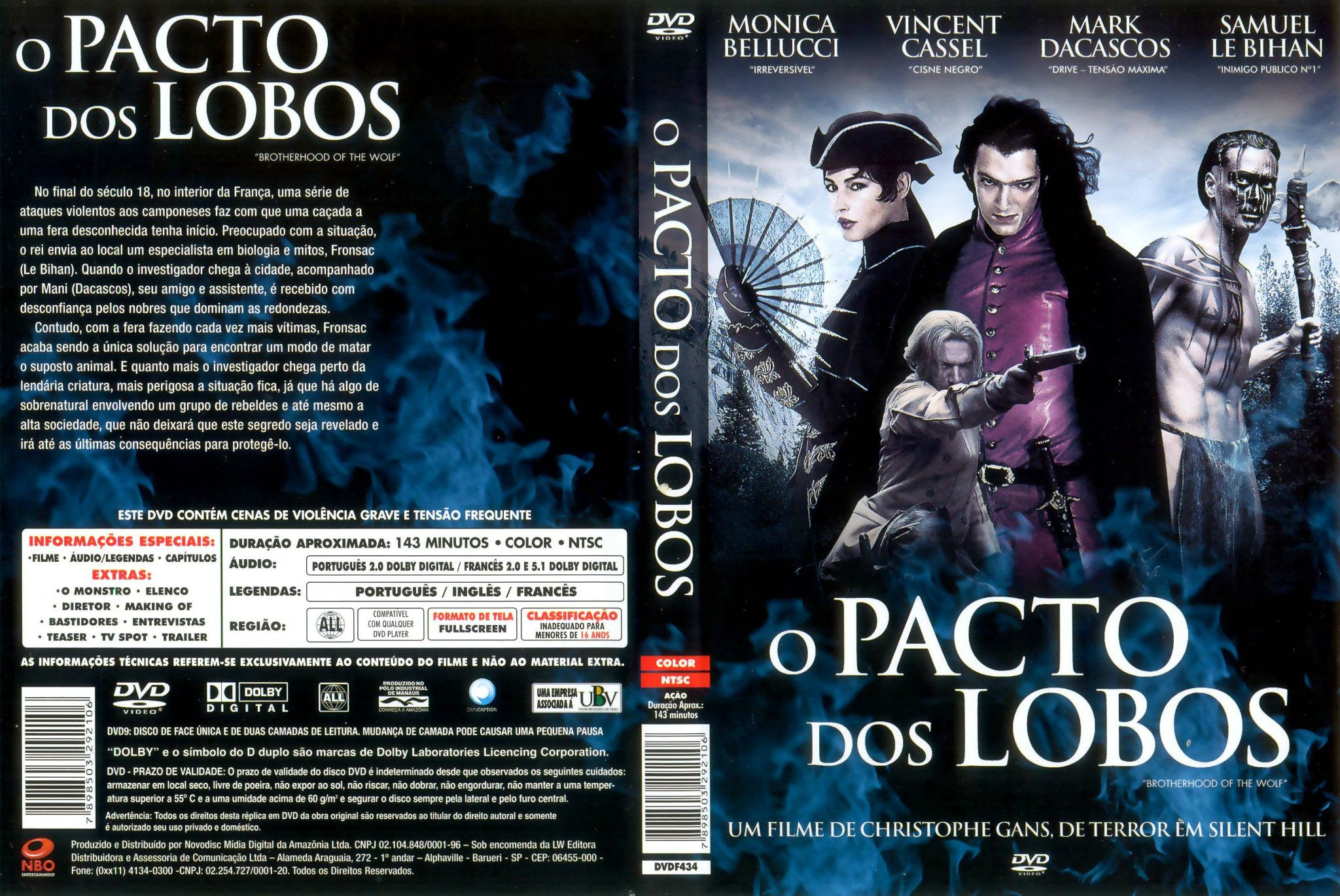 RY1Wev8 O Pacto Dos Lobos Torrent   BluRay Rip 720p Dual Áudio (2002)