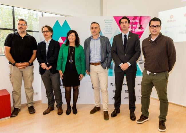 De zquierda a derecha: Fernando J. Pérez, Asier Alea, Itziar Epalza, Martín Ibabe, Xabier Otxandiano y Bittor Córdoba, de Euskaltel