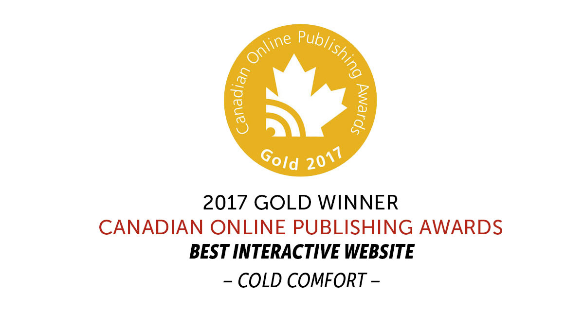 Award-winning web features!