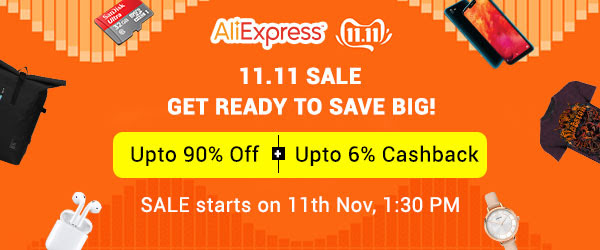 Cashkaro Aliexpress cashback rewards