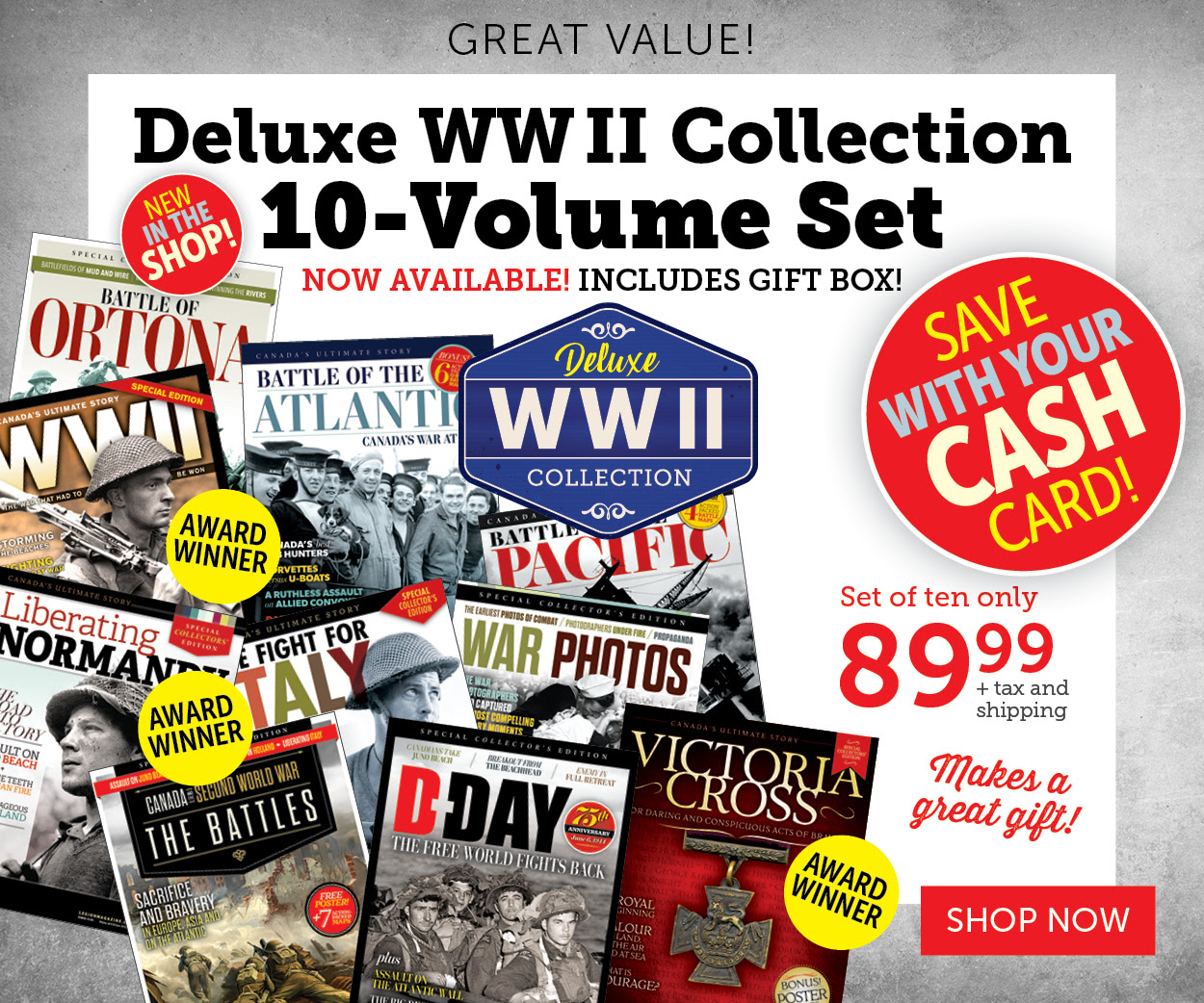 Deluxe WWII Collection 10-Volume Set