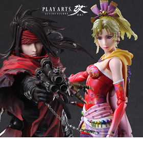 FINAL FANTASY PLAY ARTS KAI FIGURES