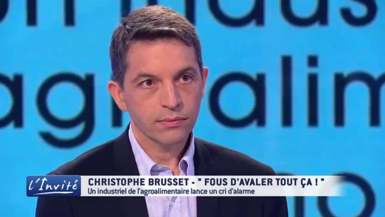Christophe Brusset, EXDIRECTIVO FRANCES DE LA INDUSTRIA ALIMENTARIA DENUNCIA COMO NOS ENVENENAN CON LA COMIDA