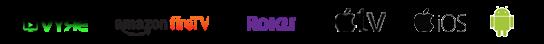 streaming logos